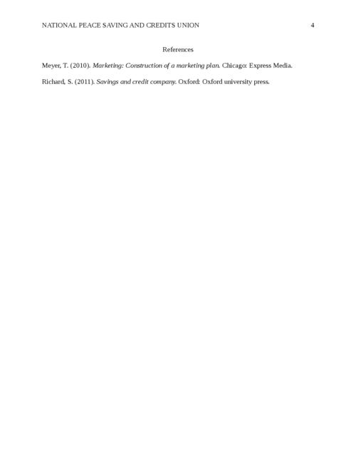National Peace Saving and Credits Union                                   - Page 4