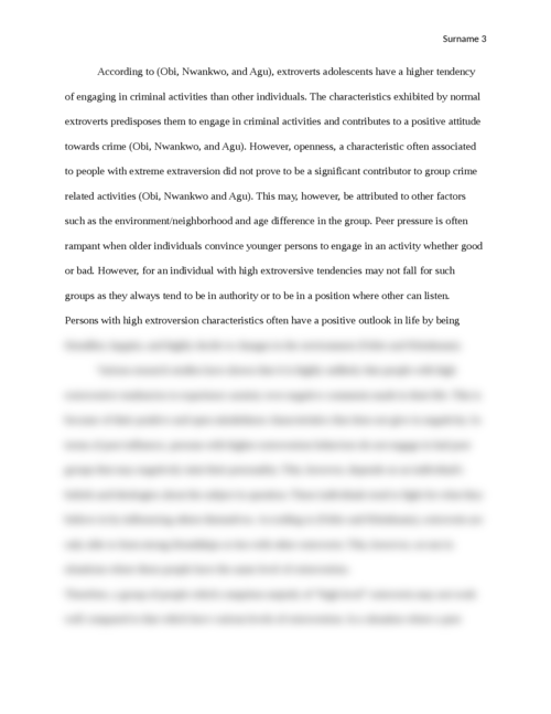 Effect of peers on the social development of adolescents - Page 3