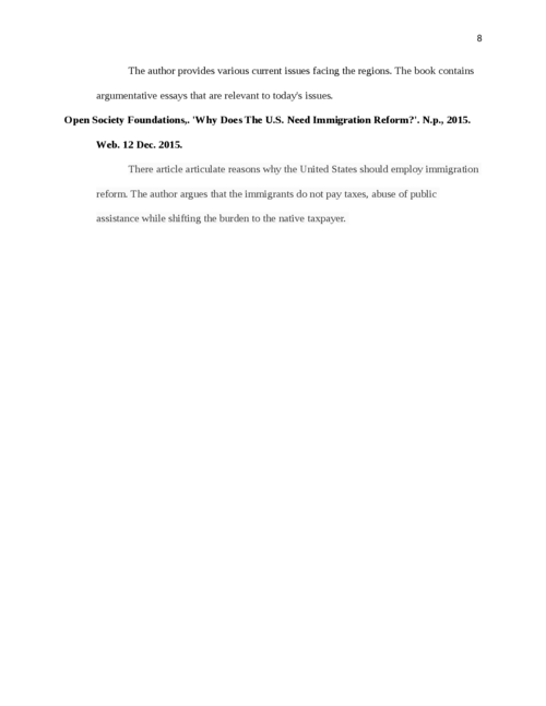 Immigration Law Reform - Page 8