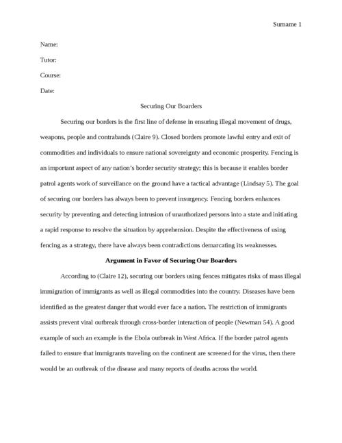 Advertisement analysis thesis