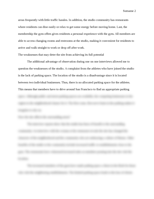 Architecture, Building, and Planning Project Report - Page 2