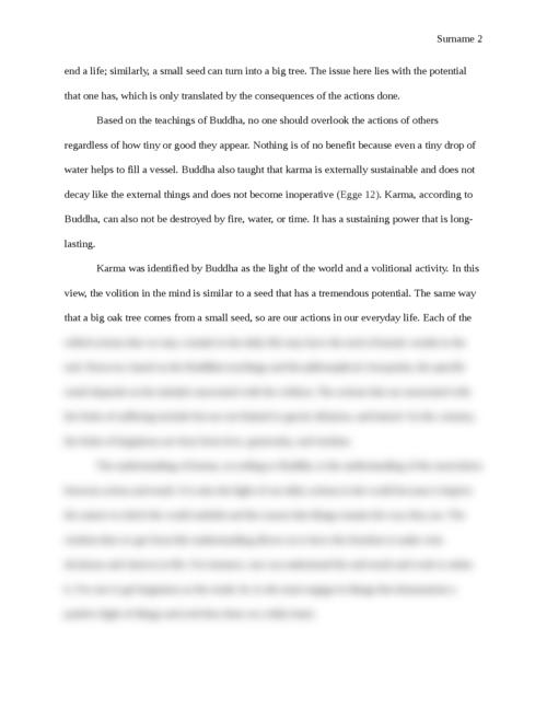 Karma as a Daily Dharma - Page 2