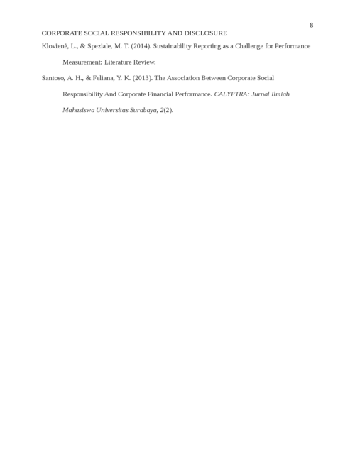 Corporate Social Responsibility and Disclosure in Kuwaiti listed companies - Page 8