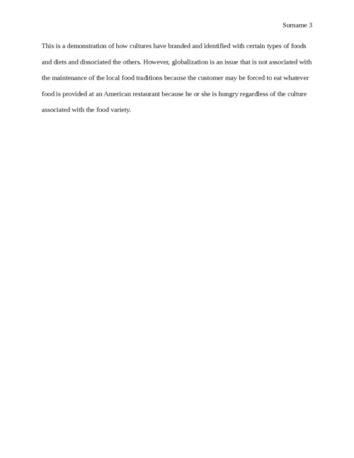 Food and Culture Discussion Questions - Page 3