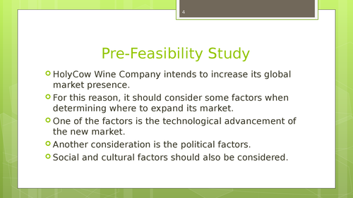 A market feasibility study of South China, India and Vietnamm - Page 4