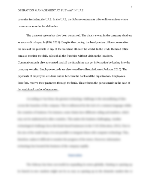 Operations Management Subway in UAE  - Page 8
