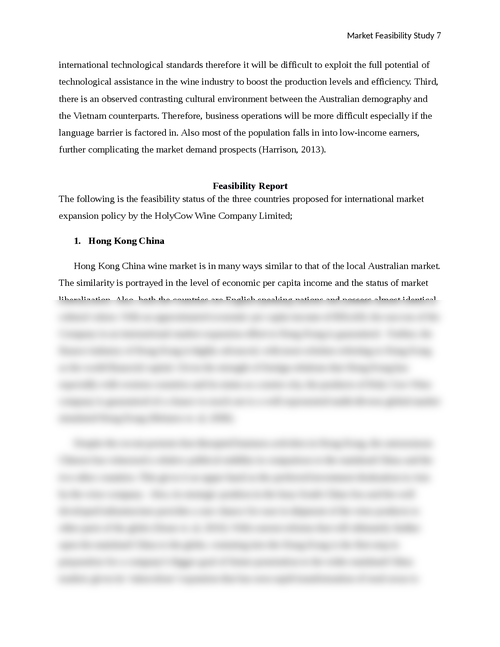 A Market Feasibility Study of South China, India and Vietnam - Page 7