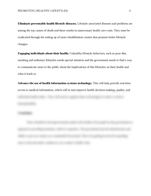 Promoting healthy Lifestyles - Page 3
