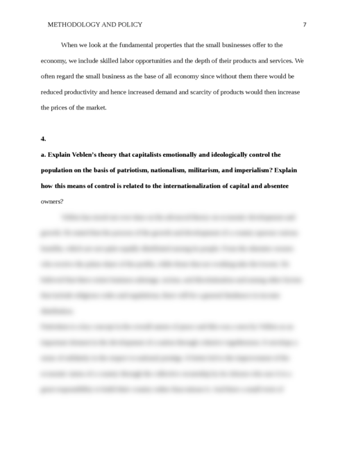Methodology and policy - Page 7