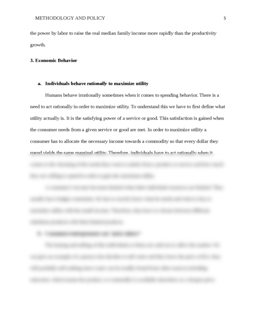 Methodology and policy - Page 5