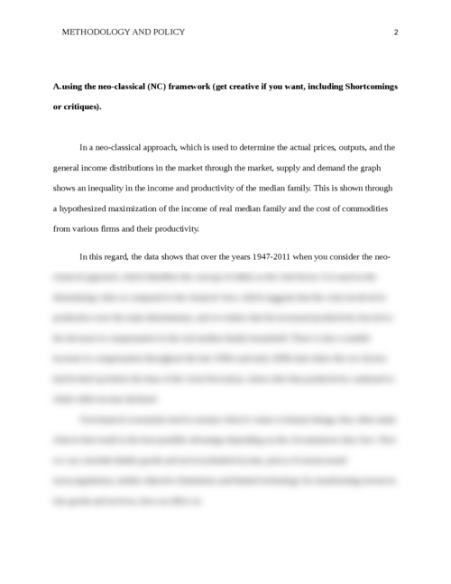Methodology and policy - Page 2