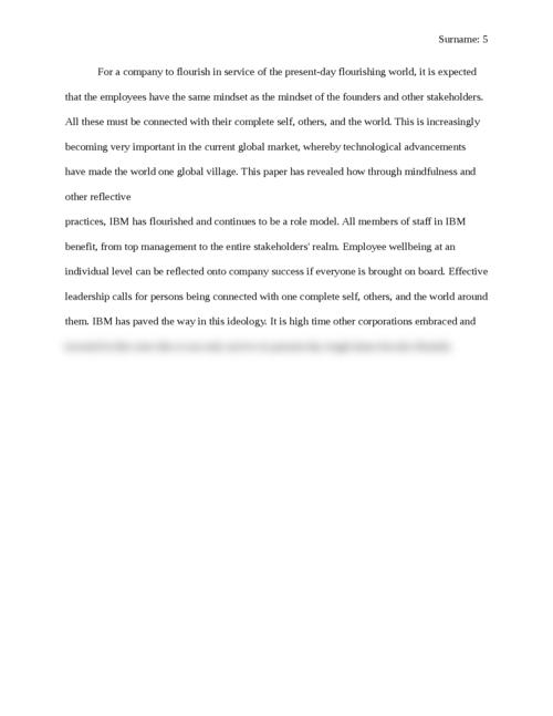 Flourishing Company after Crisis - Page 5