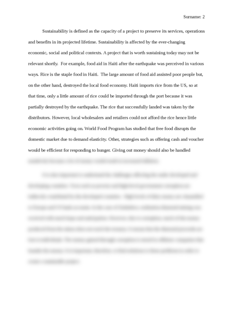 Project Sustainability - Page 2