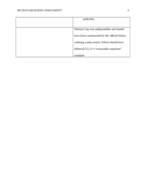 Reasonableness Assignment - Page 3