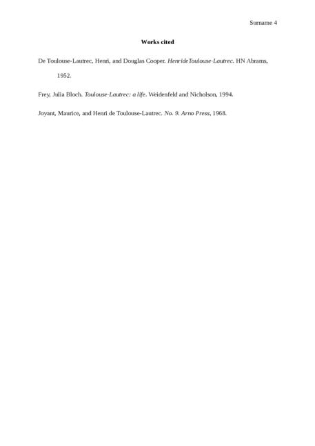 Henri de Toulouse-Lautrec - Page 4