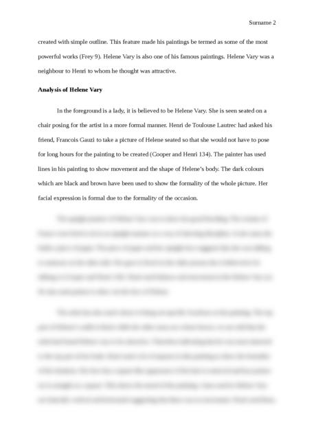 Henri de Toulouse-Lautrec - Page 2
