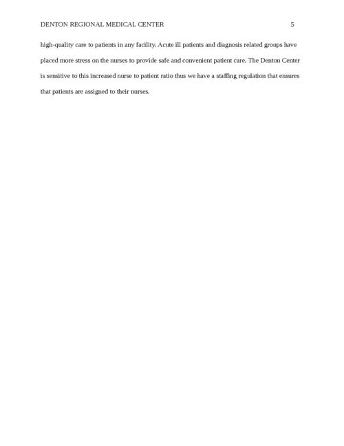 Denton Regional Medical Center - Page 5