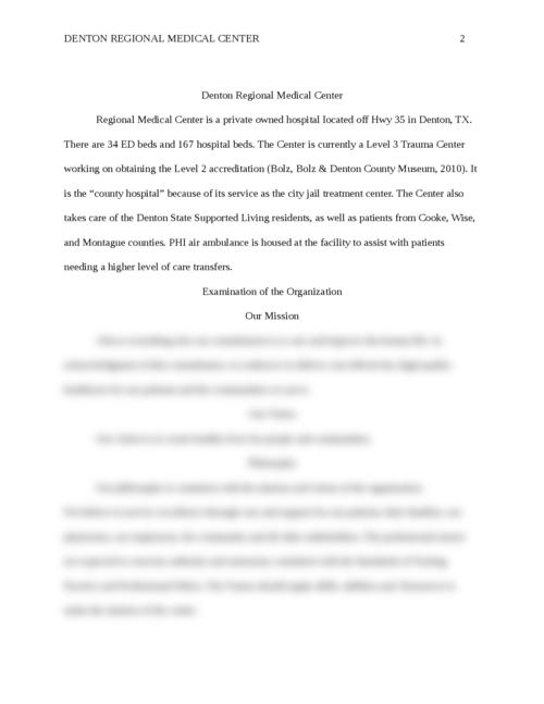 Denton Regional Medical Center - Page 2
