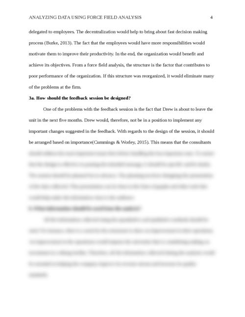 Analyzing Data Using Force Field Analysis - Page 4