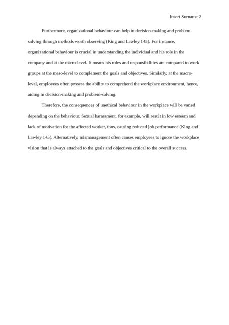 Organisation behaviour - Page 2