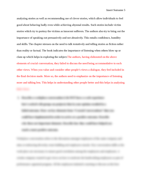 Crucial conversations book review  - Page 5