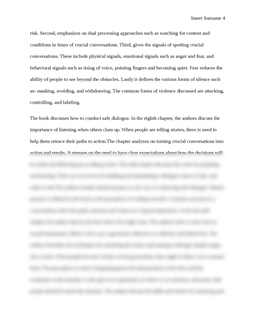 Crucial conversations book review  - Page 4