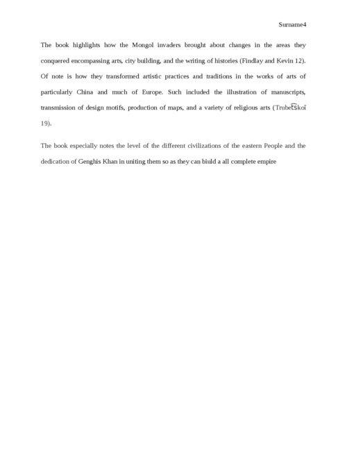 Genghis Khan and his Legacy to the Western World: An Annotated Bibliography - Page 4