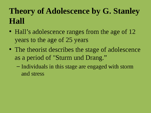 """A presentation on """"Issues adolescent health"""" - Page 10"""