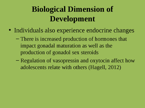"""A presentation on """"Issues adolescent health"""" - Page 9"""