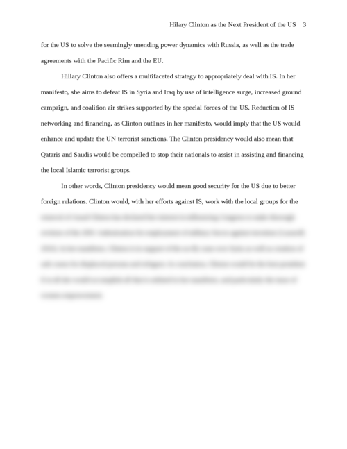Hilary Clinton as the Next President of the US - Page 3