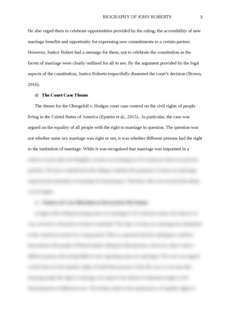 Biography of John Roberts - Page 3