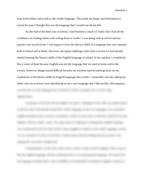My Literacy Narrative - Page 2