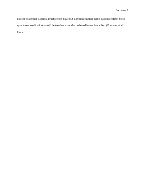 Research paper on Anti-anxiety drugs - Page 3