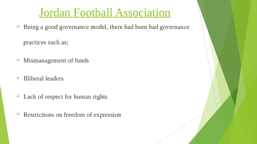 Governance of Arab Football: case studies of Qatar and Jordan - Page 7
