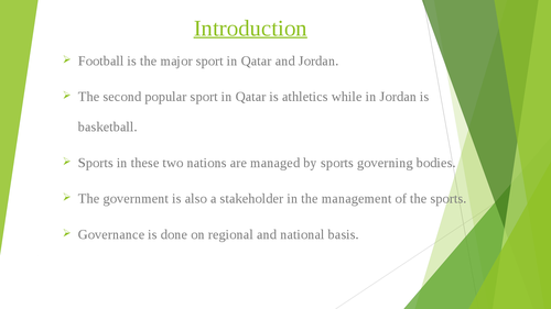 Governance of Arab Football: case studies of Qatar and Jordan - Page 2