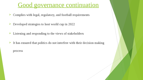 Governance of Arab Football: case studies of Qatar and Jordan - Page 9