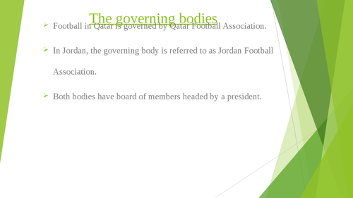 Governance of Arab Football: case studies of Qatar and Jordan - Page 3