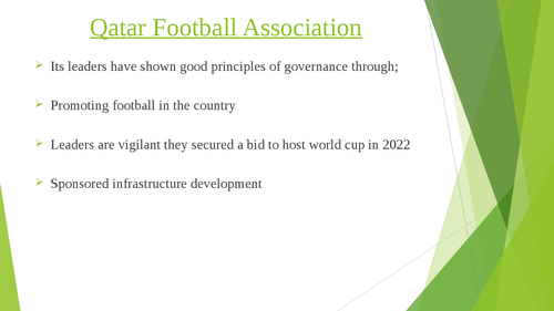 Governance of Arab Football: case studies of Qatar and Jordan - Page 8