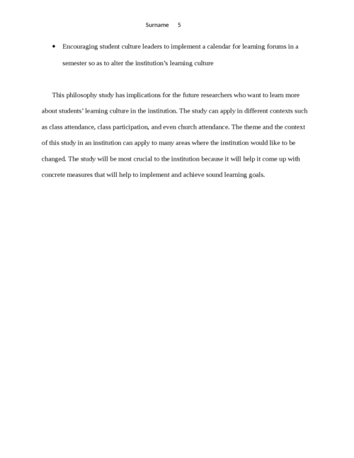 Learning Outside the Classroom Context Philosophy - Page 5