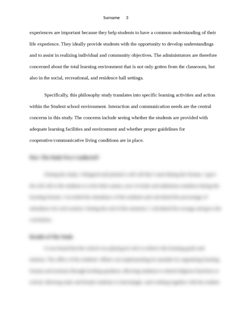 Learning Outside the Classroom Context Philosophy - Page 3