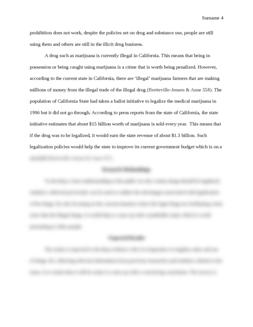 Should the sale and use of drugs be legalized? - Page 4