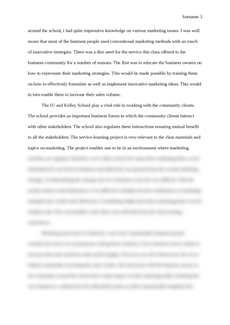 Service-learning reflection paper - Page 3
