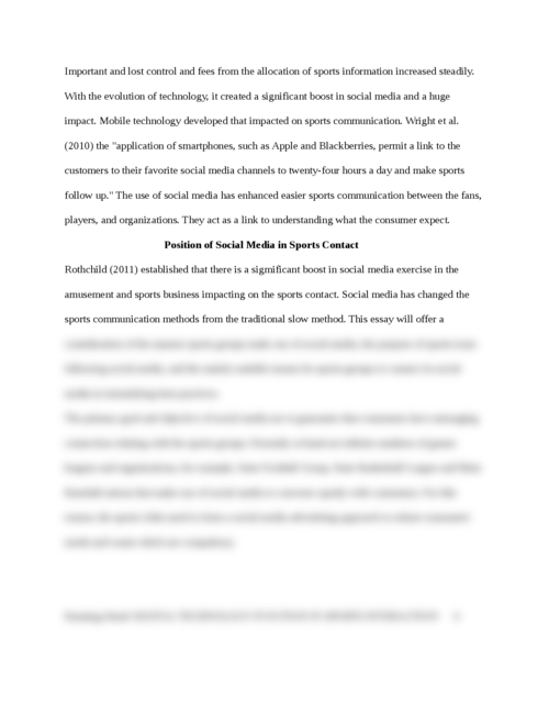 The role of social media in sports communication - Page 8