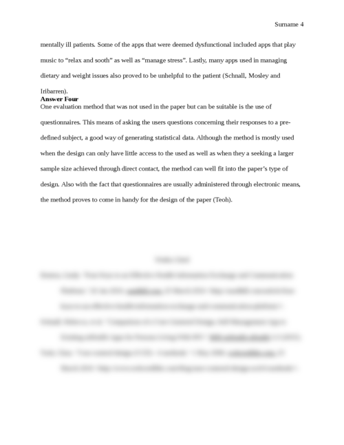 Article Review: Comparison of a User-Centered Design - Page 4
