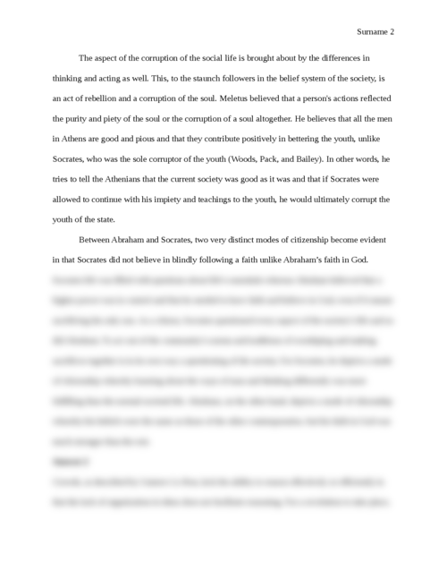 Socrates and the Corruption of the Soul - Page 2
