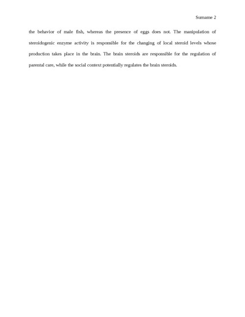 summary of Integration of social context and fitness in the behavioral neuroendocrinology of the blue banded goby, Lythrypnusdalli - Page 2