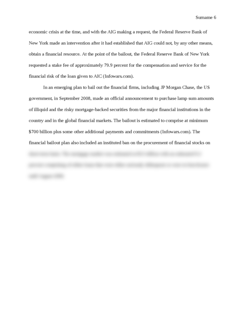 The Effect of the Financial Crisis on JP Morgan Chase and how the Firm Reacted - Page 6