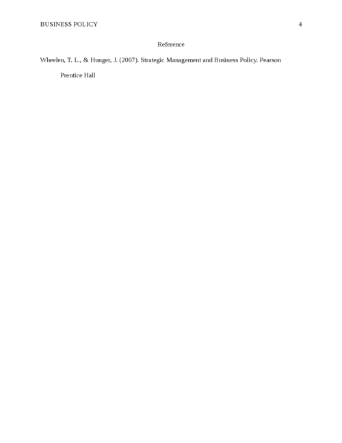 Concept of business policy - Page 4