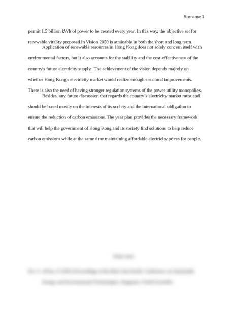 Application of a Renewable Resource in Hong Kong Between 2011- 2050 - Page 3