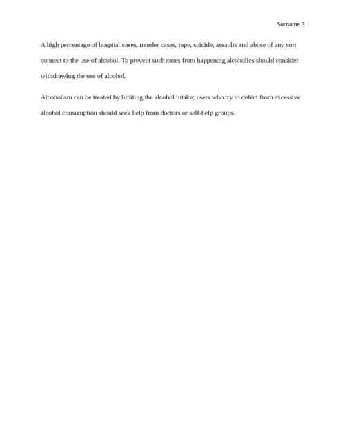 Cause and Effect of Alcohol - Page 3